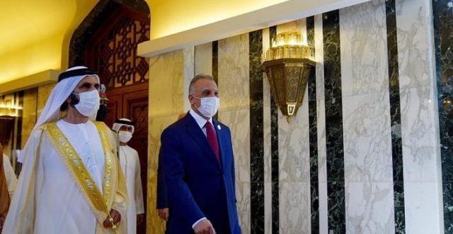 """محمد بن راشد عبر """"تويتر"""": وصلنا بغداد عاصمة الرشيد والمأمون وعاصمة العالم ودار السلام"""