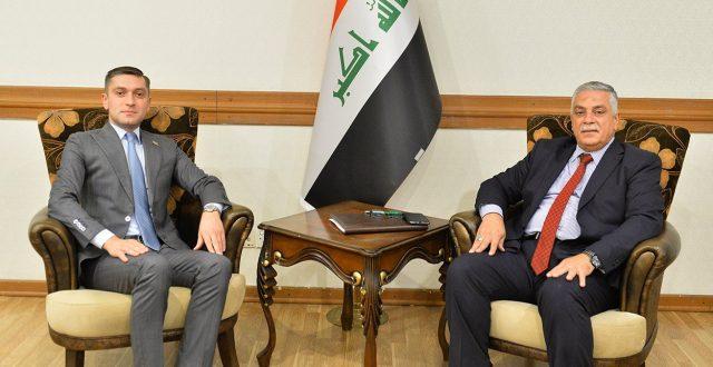 رئيس دائرة آسيا وأستراليا يلتقي القائم بأعمال السفارة الأذربيجانية لدى بغداد