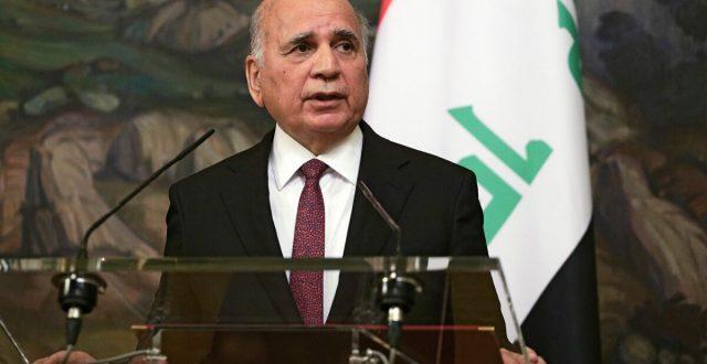 وزير الخارجية العراقي يصل الى السعودية