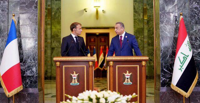 أهمّ ما تحدّث به رئيس مجلس الوزراء مصطفى الكاظمي في المؤتمر الصحفي المشترك مع الرئيس الفرنسي إيمانويل ماكرون