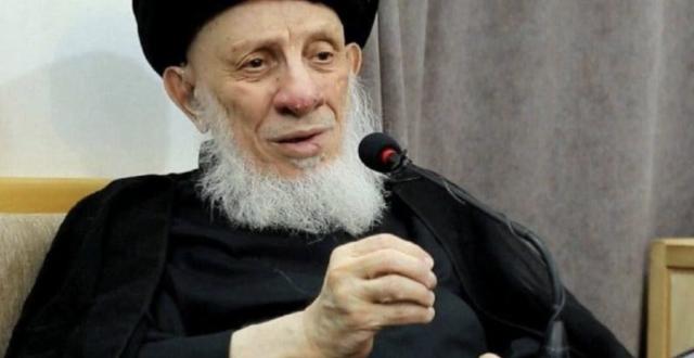 وفاة المرجع الديني الكبير محمد سعيد الحكيم اثر سكتة قلبية مفاجئة