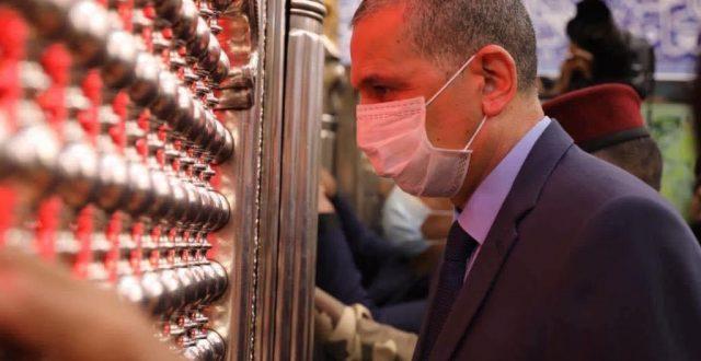 وزير الداخلية عثمان الغانمي: عدد زائري كربلاء المقدسة وصل إلى 17 مليون زائر