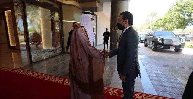 الحلبوسي يلتقي نظيره الإماراتي في ابو ظبي