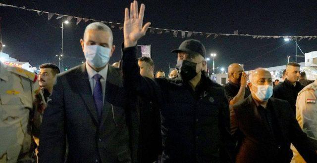 الكاظمي…يشكر القوات الأمنية بكل صنوفها لنجاح خطة حماية الزيارة الأربعينية
