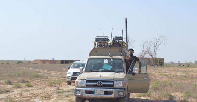 الحشد الشعبي يعثر على مضافة لداعش تضم صاروخين في صلاح الدين