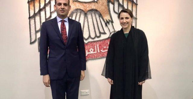 سفير العراق في أبو ظبي يبحث مع وزيرة الدولة الإماراتية سبل التعاون الثنائي