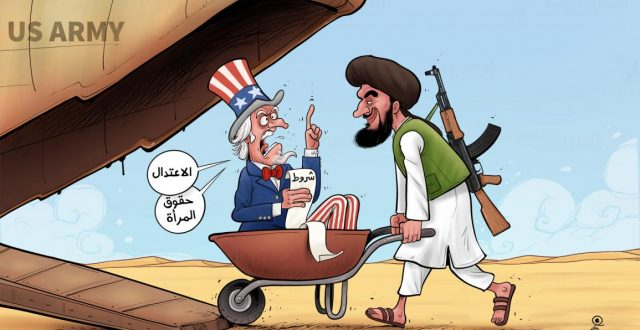 حكومة طالبان والغرب والمرأة والإسلام