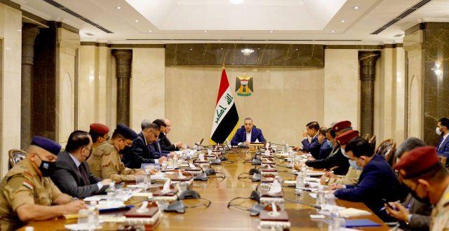 الكاظمي يترأس اجتماعا للمجلس الوزاري للأمن الوطني