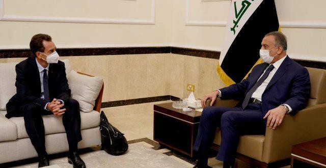 الكاظمي يستقبل السفير الفرنسي الجديد في العراق
