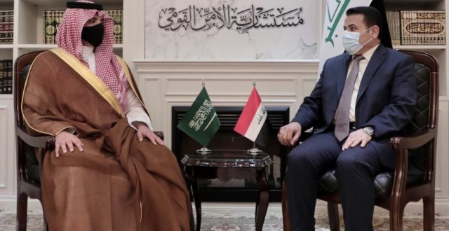 مستشار الأمن القومي يستقبل وزير الداخلية السعودي