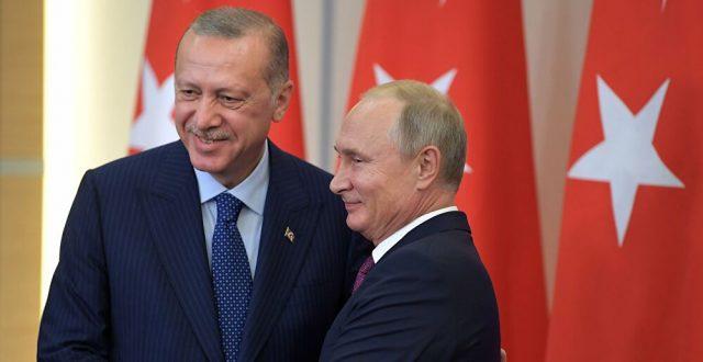 الرئيس الروسي يشكر نظيره التركي لهذا السبب