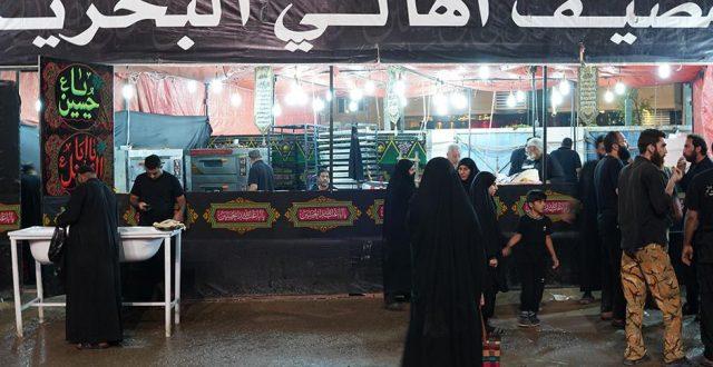 مواكب الخليج تسخر امكانياتها لخدمة زوار الاربعين في كربلاء