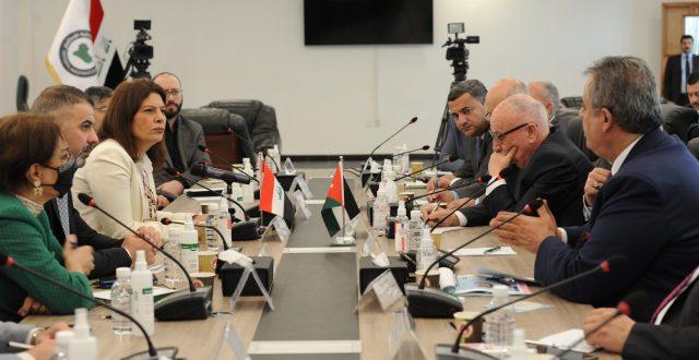 رئيس الهيئة الوطنية للاستثمار تستقبل وزير الأشغال العامة والإسكان الأردني