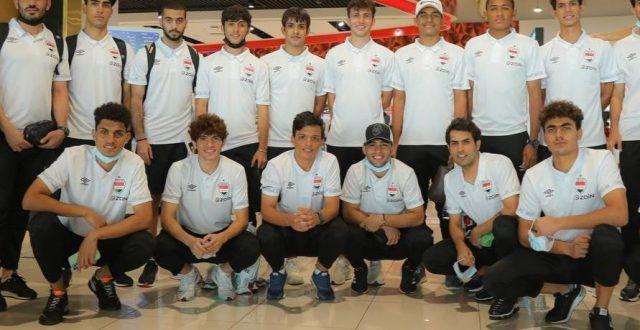المنتخب الأولمبي يعود إلى بغداد بعد اختتام معسكره في تركيا والإمارات