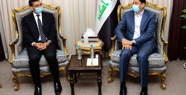 الأمين العام لمجلس الوزراء يستقبل السفير الهندي في العراق