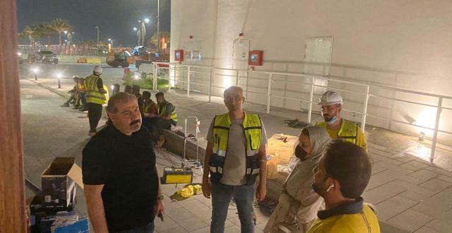 """شركة المعارض العراقية تتابع مراحل اكتمال الجناح العراقي المشارك بمعرض أكسبو 2020  دبي """"صور"""""""