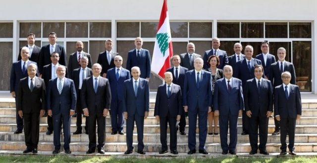 الرئاسة اللبنانية…تنشر صورة للحكومة الجديدة