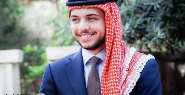 الديوان الملكي الأردني يعلن إصابة ولي العهد بفيروس كورونا