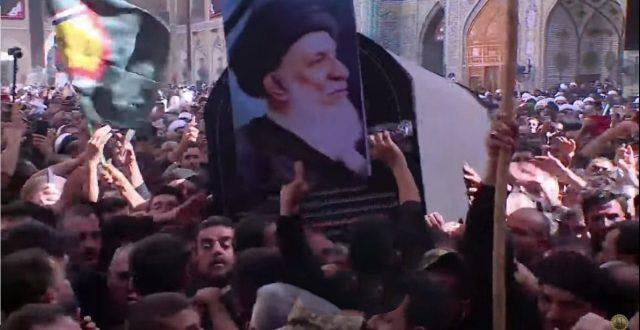 عاجل…سيدفن المرجع  الكبير السيد محمد سعيد الحكيم داخل الحرم العلوي