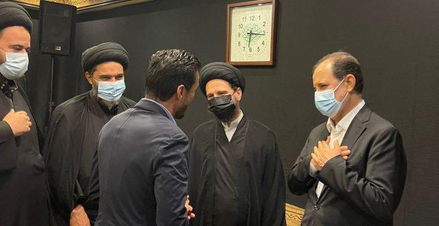بالصور: فاتحة مكتب السيد السيستاني دام ظله في لبنان عن روح السيد الحكيم قدس سره