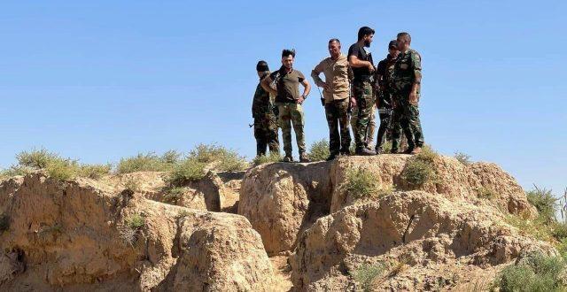 بالصور..الجيش والحشد ينفذان عملية امنية شرق صلاح الدين