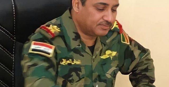 """اللواء الركن محمد القريشي """"ابو الوليد"""" قائداً للفرقة الخامسة شرطة اتحادية"""