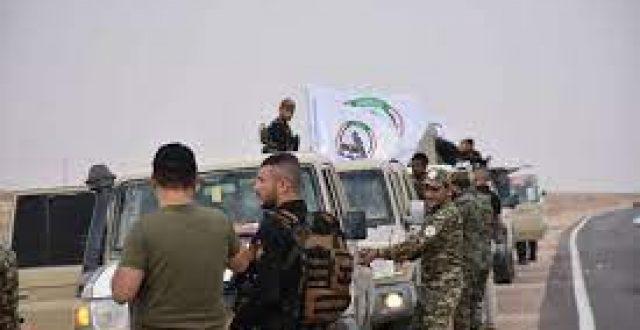 الحشد الشعبي ينفذ عملية أمنية جنوب شرق سامراء
