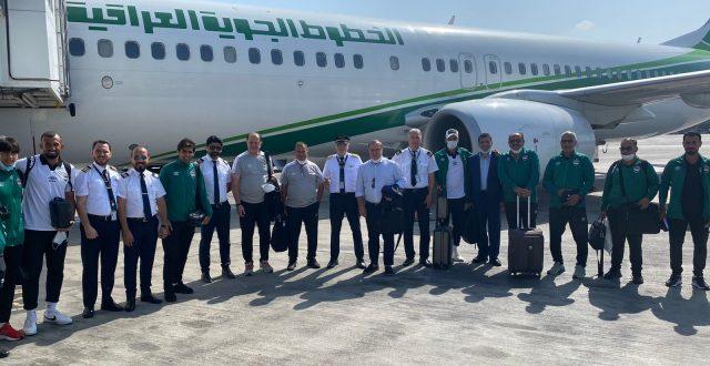 المنتخب الوطني في الدوحة تمهيدا لملاقاة نظيره الايراني