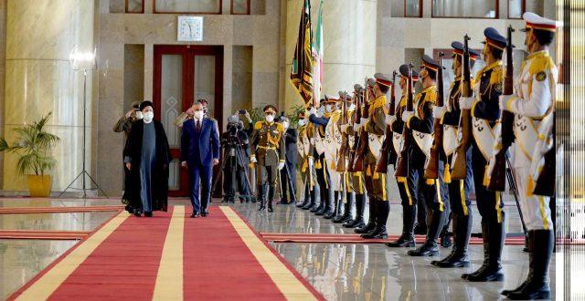 مراسم استقبال رسمية لرئيس الكاظمي في الجمهورية الإسلامية الإيرانية