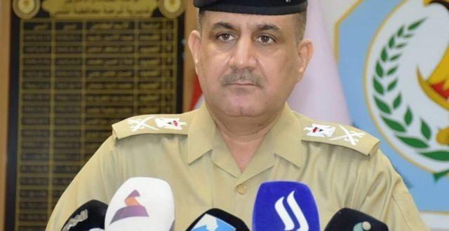 لهذا السبب.. قائد شرطة المثنى يعفي كافة الضباط والمنتسبين من العقوبات الانضباطية