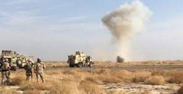 """قوة مشتركة من الحشد والجيش تدمر مضافة لـ""""داعش"""" جنوب القائم"""