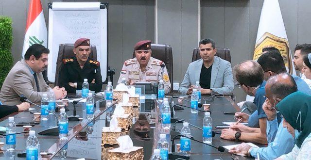 رئيس اللجنة الأمنية العليا يلتقي ممثلي وسائل الإعلام والوكالات الأجنبية ويطلعهم على سير العملية الانتخابية