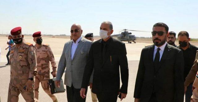 وزير الداخلية يصل محافظة النجف