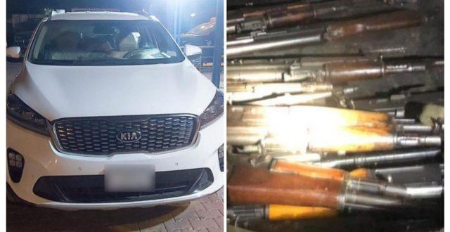 الشرطة الاتحادية تتمكن من ضبط عجلة تحمل اسلحة غير مرخصة في بغداد