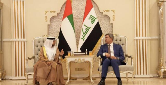وزير الطاقة الاماراتي يصل الى بغداد