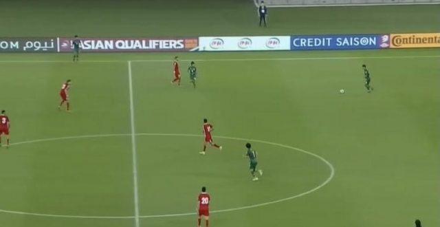منتخبنا الوطني يتعادل سلبياً امام لبنان في تصفيات كأس العالم