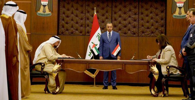 العراق والإمارات يوقعان عقد بناء 5 محطّات كهروشمسية لتوليد الطاقة