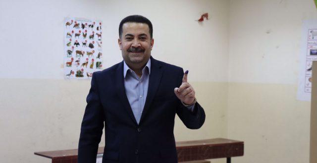 بالصور.. محمد شياع السوداني يدلي بصوته في الانتخابات النيابية